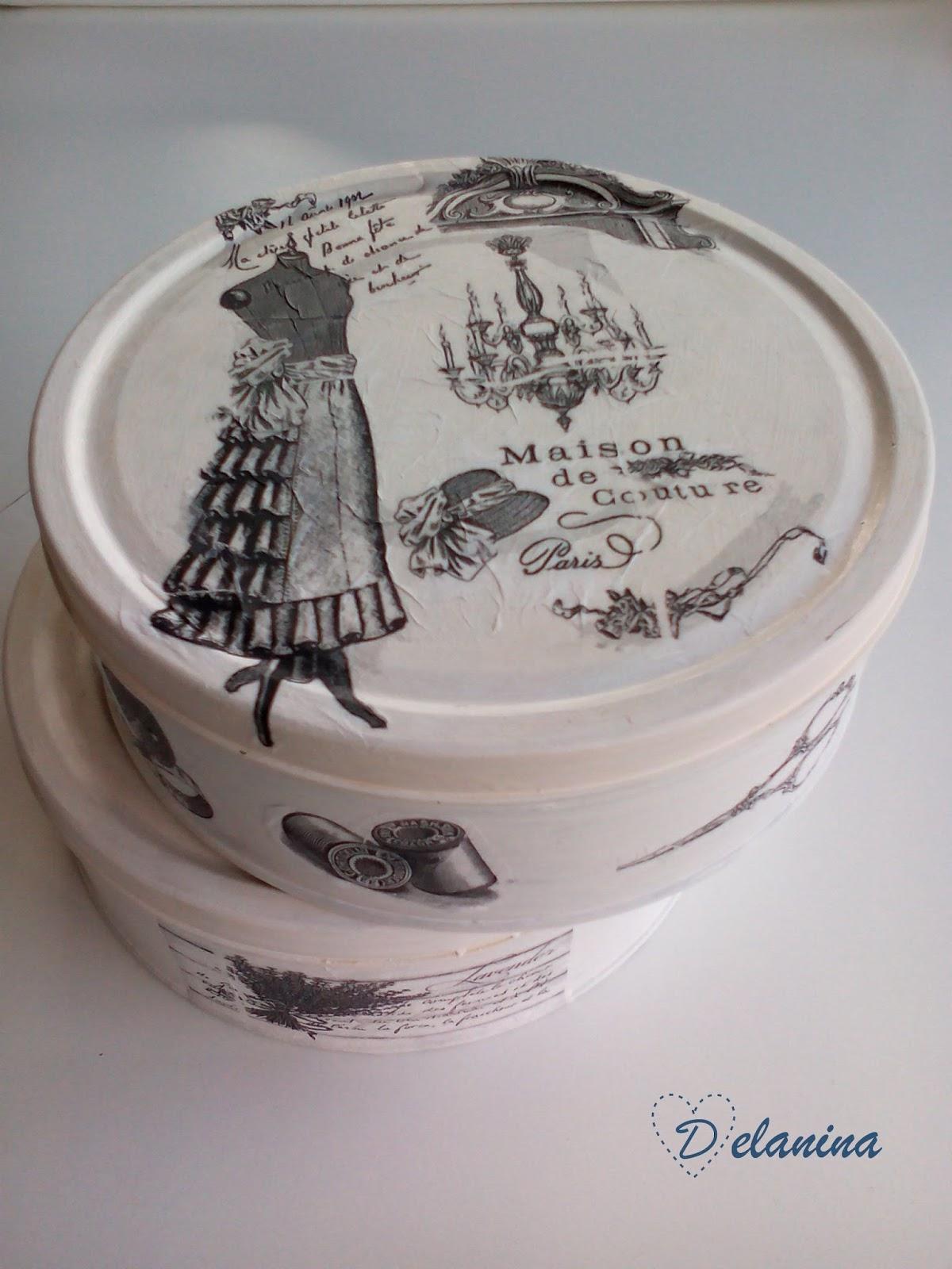 Diy decorar latas con decoupage delanina - Motivos infantiles para decorar ...
