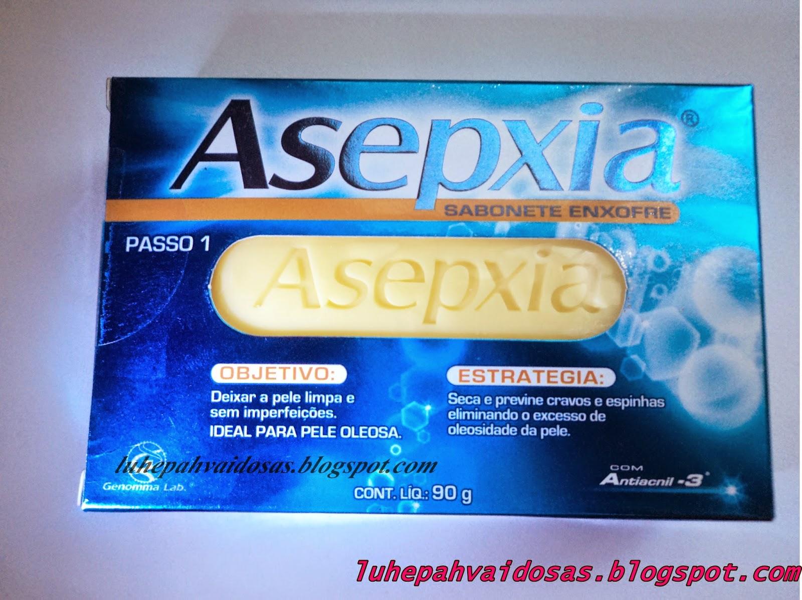 sabonete asepxia