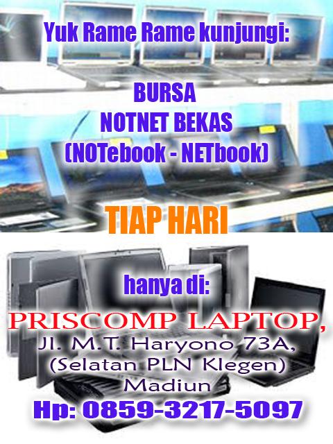 Bursa Laptop Bekas Madiun