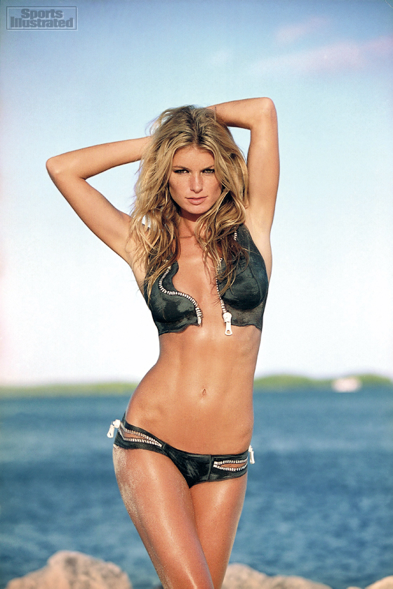 Illustrated model sport marisa miller nude