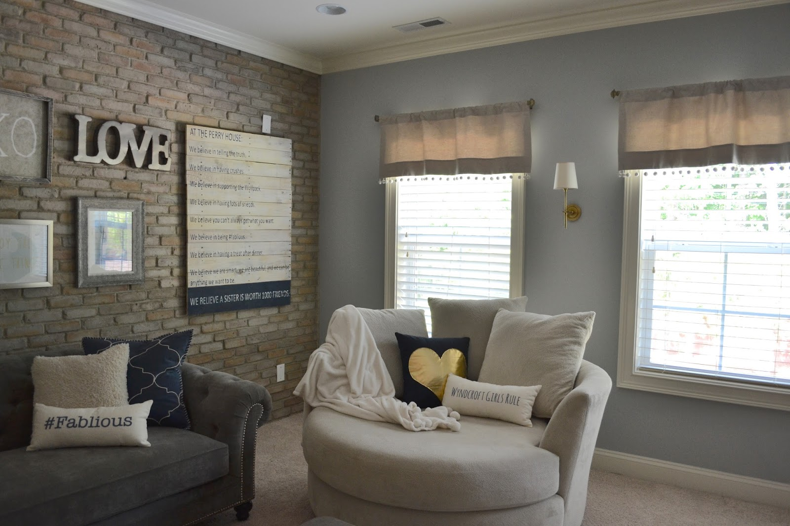 Client Project Modern Rustic Playroom Design Post Interiors