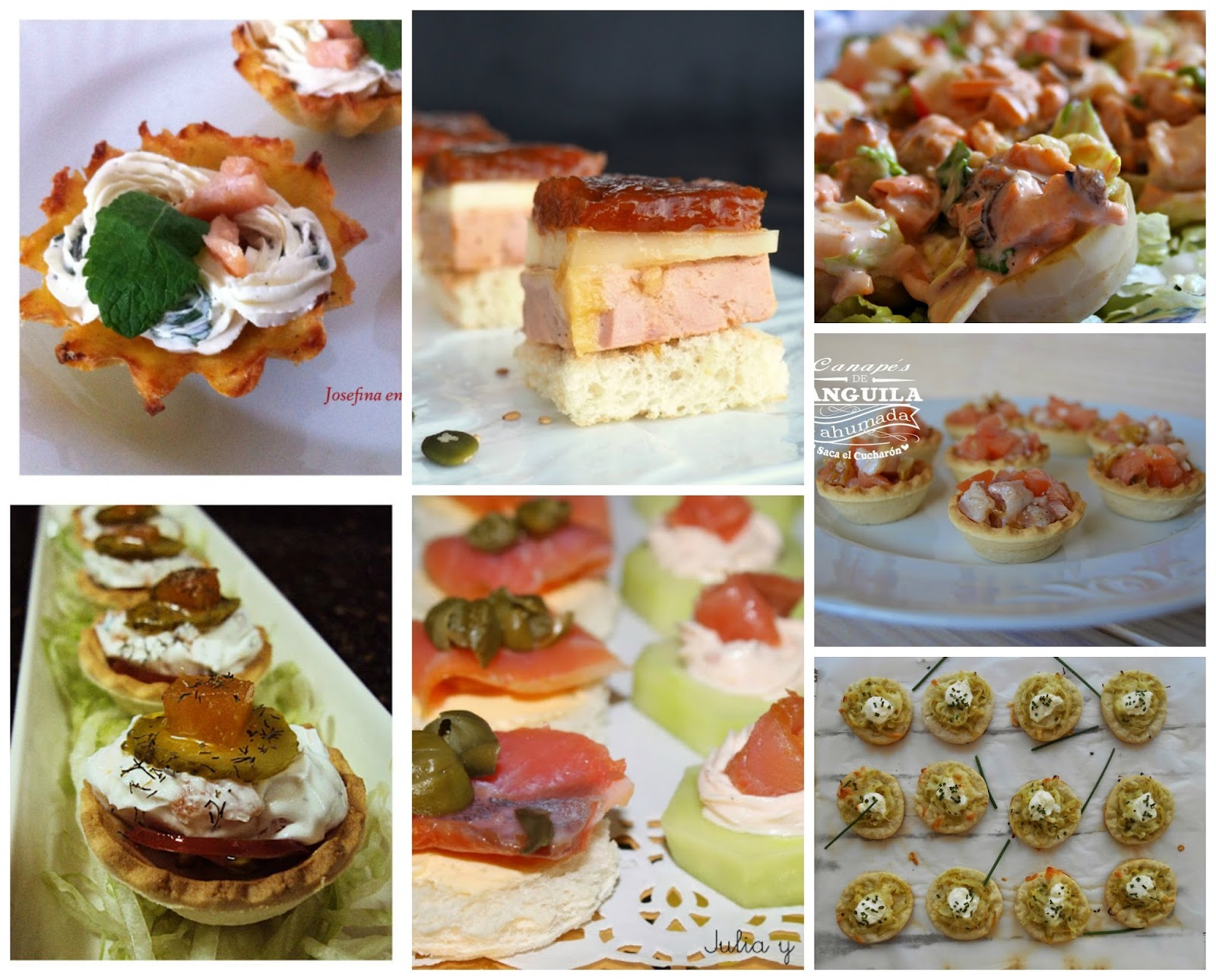 Canap s de fiesta cocina - Ofertas en canapes ...