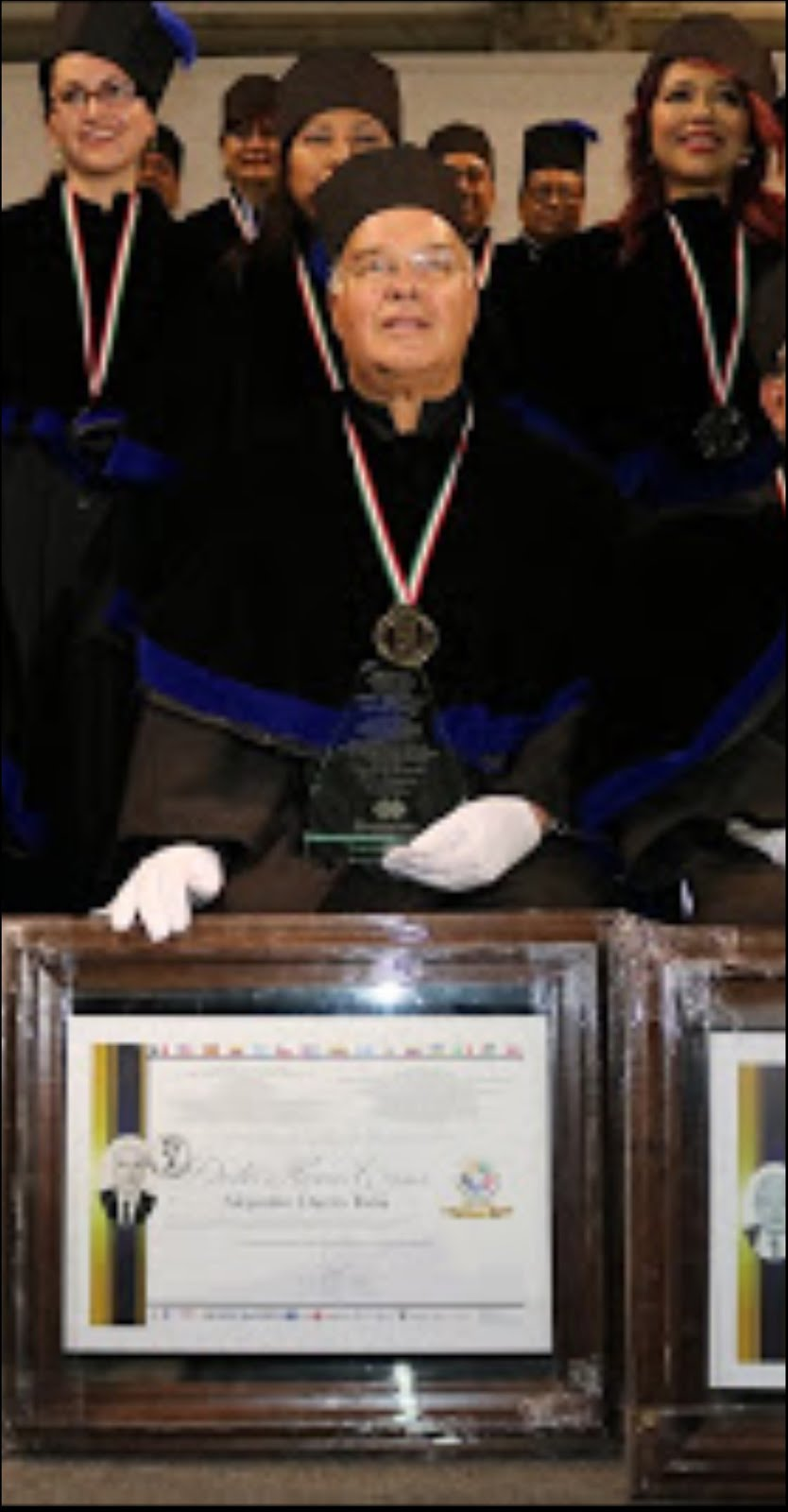 Doctorado Honoris Causa a Alejandro Durán