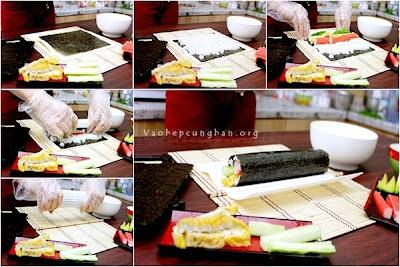 Cách làm sushi đơn giản tại nhà 4