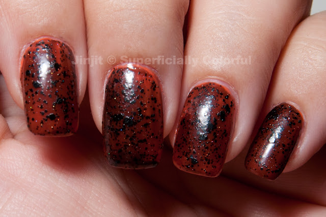 The Nail junkie - Black Cat over Chic number 49