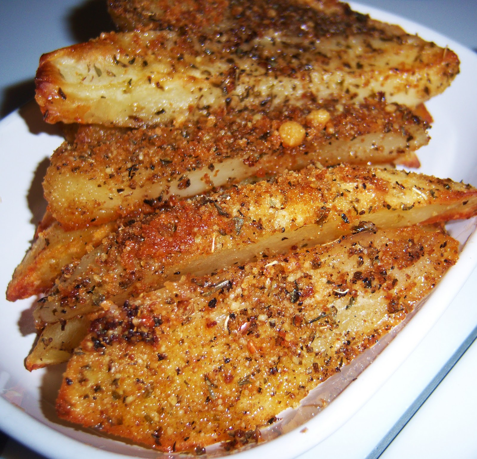 ... Cookin' Italian Style Cuisine: Baked Parmesan Crusted Potato Wedges