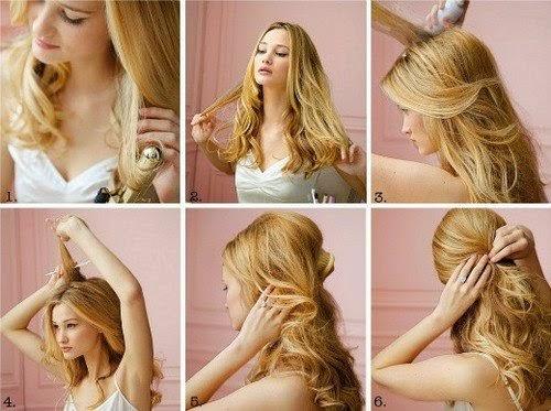 5 Gün 5 Dakika 5 Saç Modeli Okul Için Saç Stilleri Bayan Saç