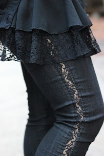 Lace Side Pants Forever 21