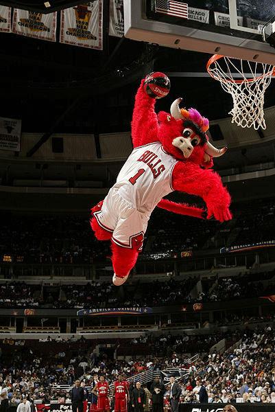 "Chicago Bulls Mascot ""Benny"" | The Wrecking Yard"