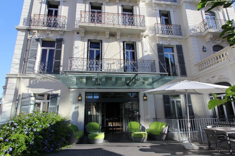 Hôtel luxe Cannes Villa Gabro Résidence hôtelière