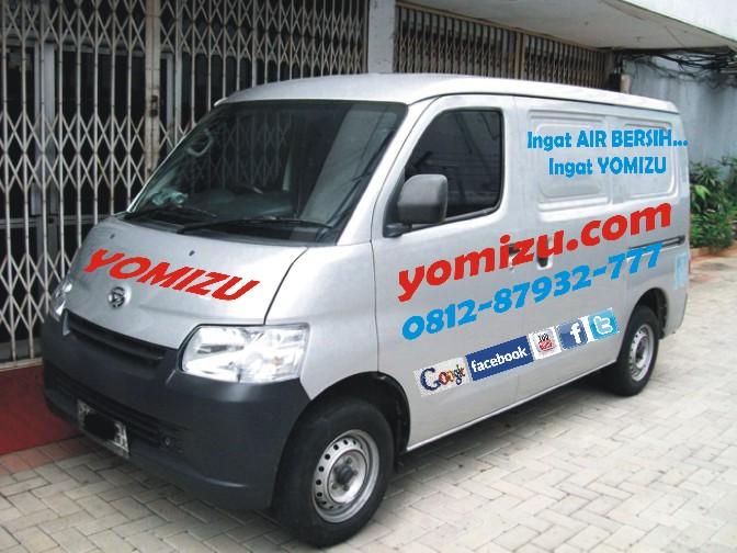 mobil operasional yomizu filter air termurah dan berkualitas pasang gratis jabodetabek. Black Bedroom Furniture Sets. Home Design Ideas