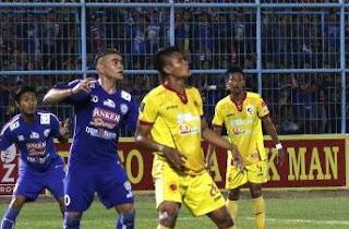 Sriwijaya FC vs Arema Cronus 2-1