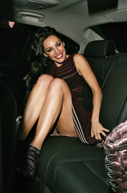 Kelly Brook upskirt