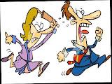 Piada só para advogados sobre briga de marido e mulher.