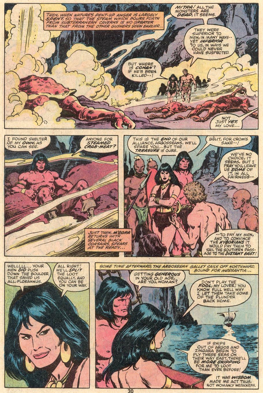 Conan the Barbarian (1970) Issue #99 #111 - English 17