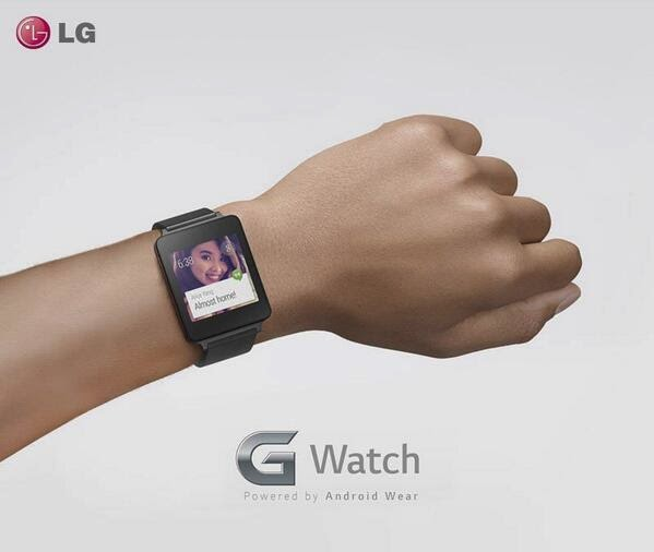 The LG G Watch has been officially announced