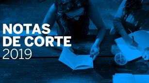 NOTAS DE CORTE A LAS DIFERENTES UNIVERSIDADES DE ESPAÑA
