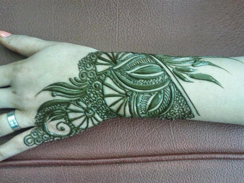 Mehndi Patterns Wallpapers : Beautiful latest simple arabic pakistani indian bridal girl mehndi