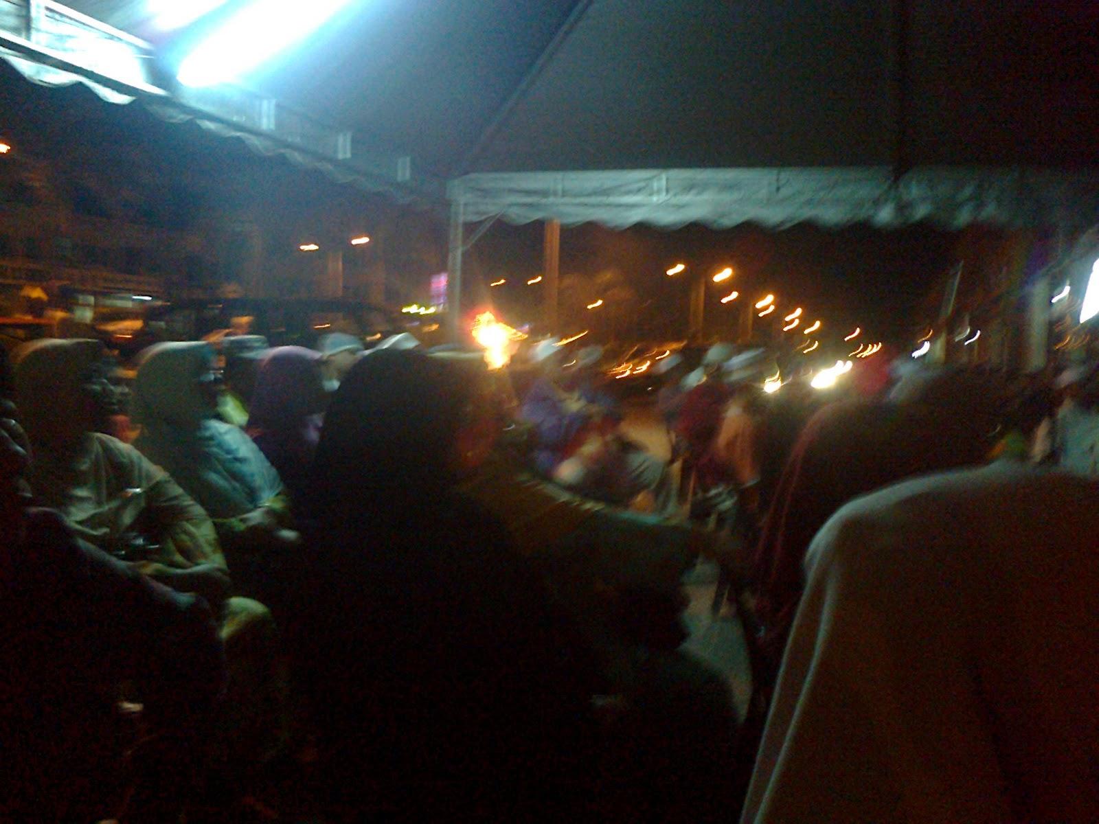 Sekitar Ceramah Kemerdekaan di Taman Meru, Ipoh, Perak