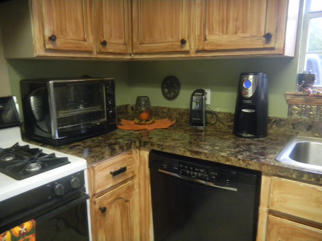 DittoDecorating: Faux Granite Countertops