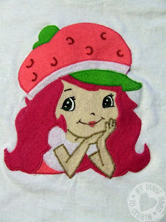 Strawberry Shortcake Applique T-Shirt