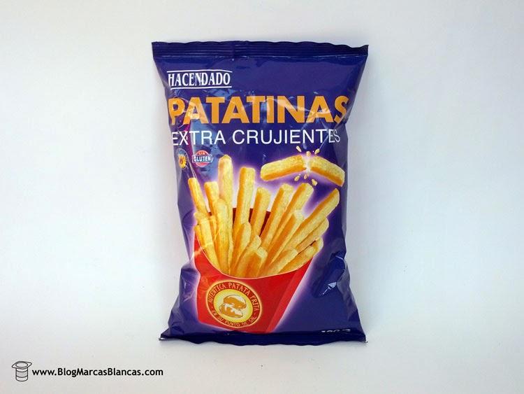 Patatinas extracrujientes HACENDADO de Mercadona