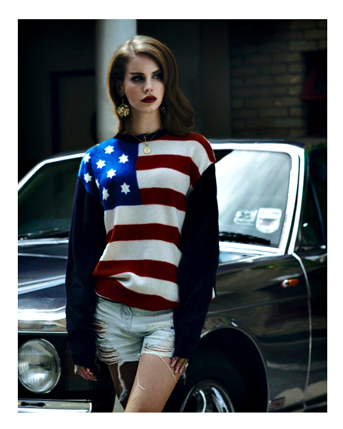 Lana Del Rey Facebook Cover Flag From A to Zeny:...