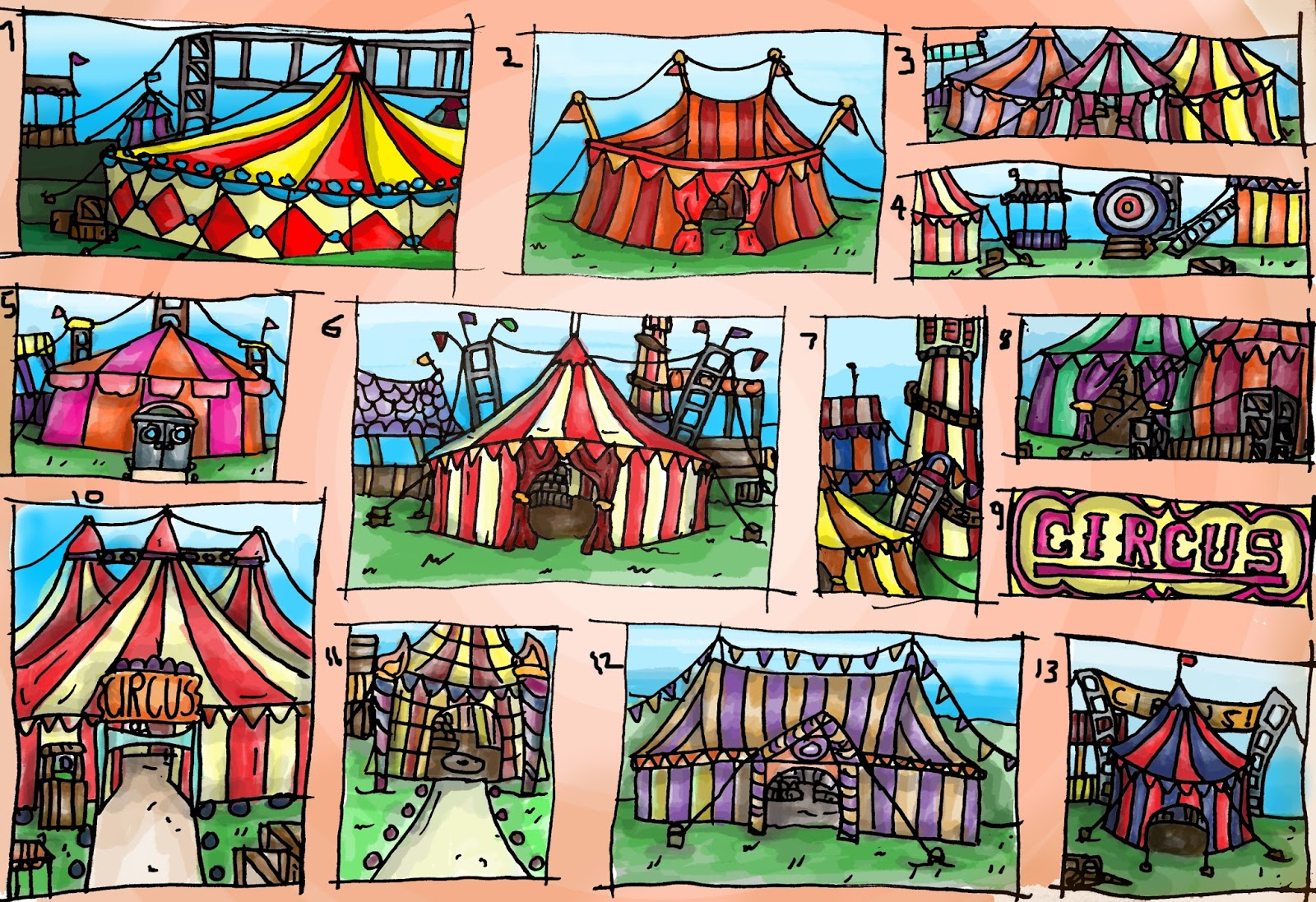 Exceptional The Designs Are Quite Generic, So I Need To Think Of More Ways As To How  The Circus Can Be More Unique   That Is Something That We Will Discuss As A  Group.