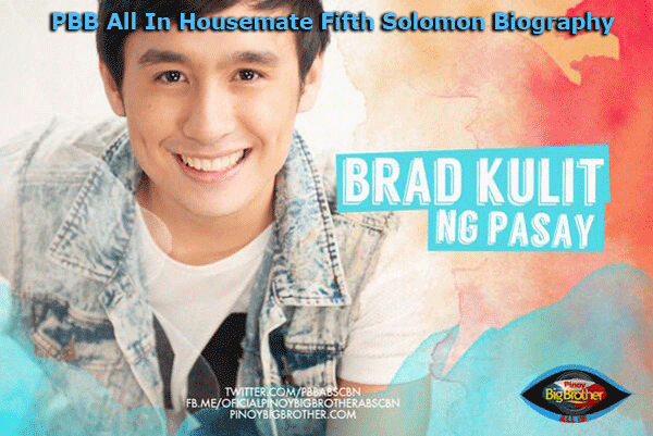 PBB All In Housemate Fifth Solomon Biography
