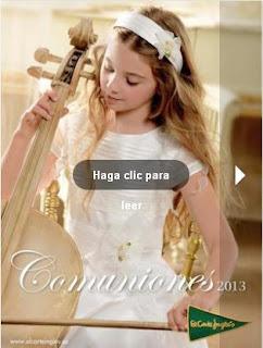 comuniones 2013 el corte ingles