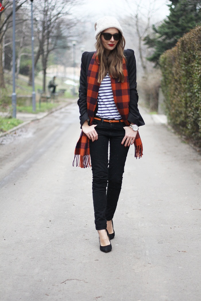 Fashion and style plaid and stripes Fashion and style vanja