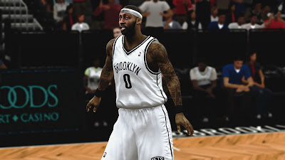 NBA 2K13 Andray Blatche Realistic Face Mod