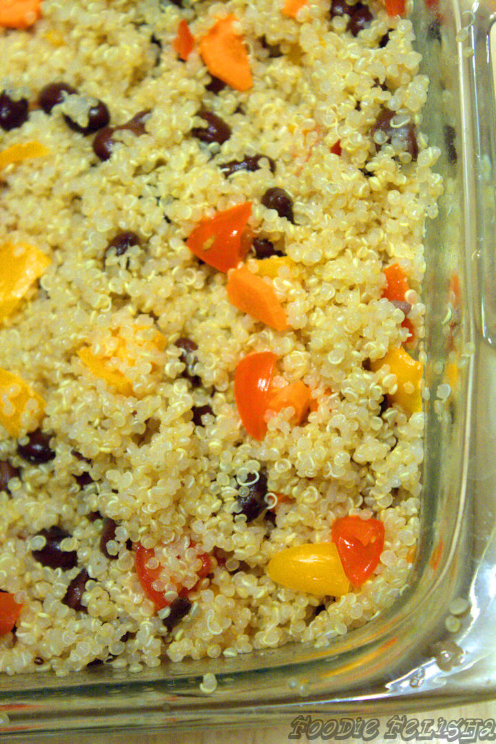Adventures With Foodie Felisha: Apple Cider Quinoa Salad