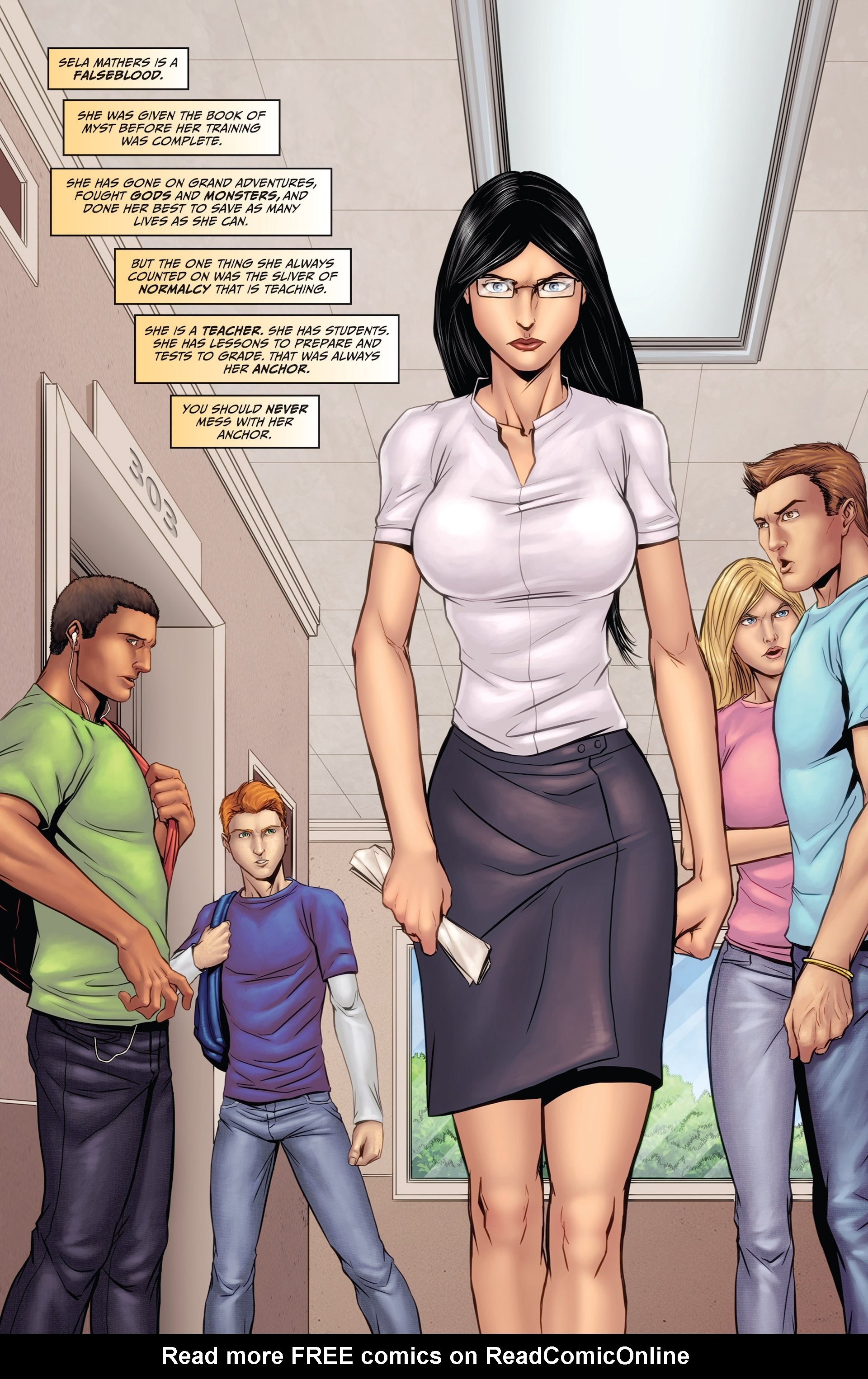 Grimm Fairy Tales (2005) Issue #93 #96 - English 3