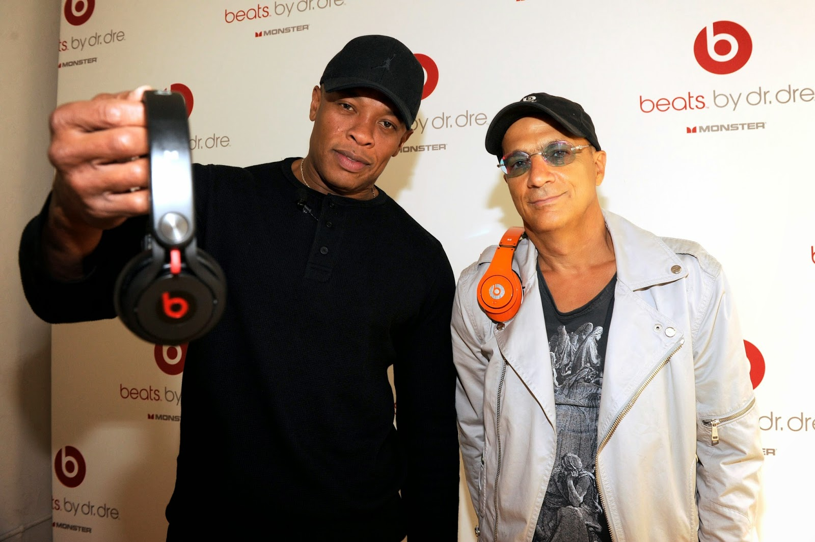 Dr. Dre and Jimmy Iovine, Beats Co-Founder