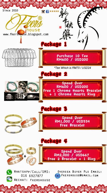 Fkers Chinese New Year Promotion
