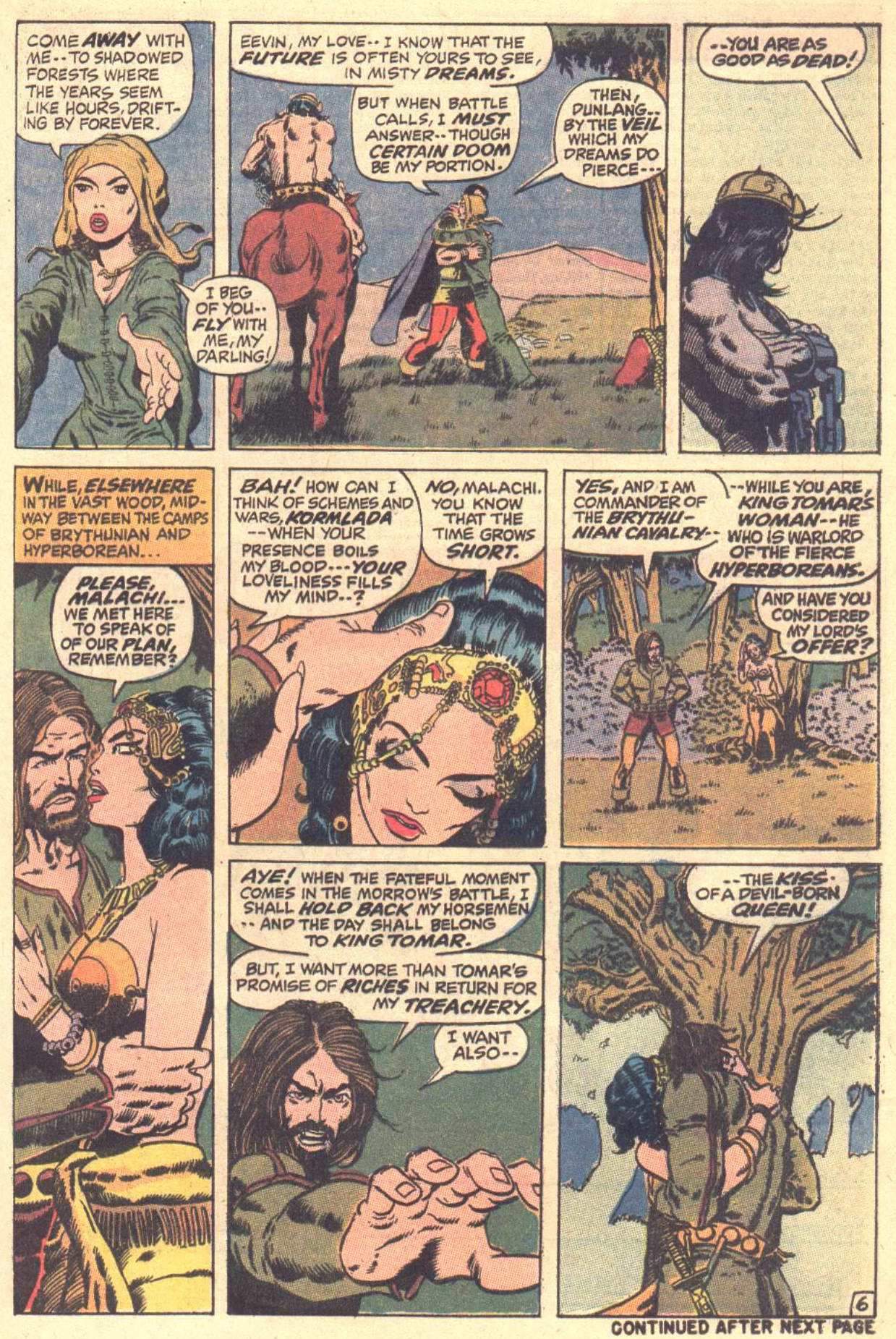 Conan the Barbarian (1970) Issue #3 #15 - English 7