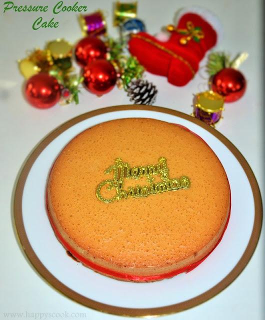 Electric Pressure Cooker Sponge Cake