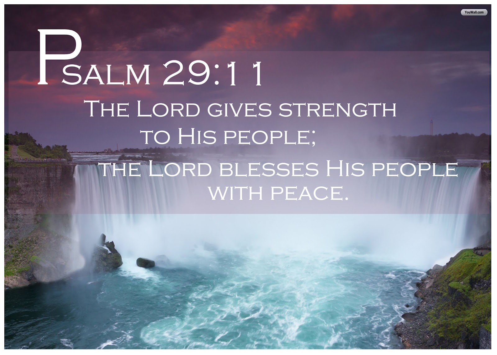 Image result for The Lord is the strength of his people image