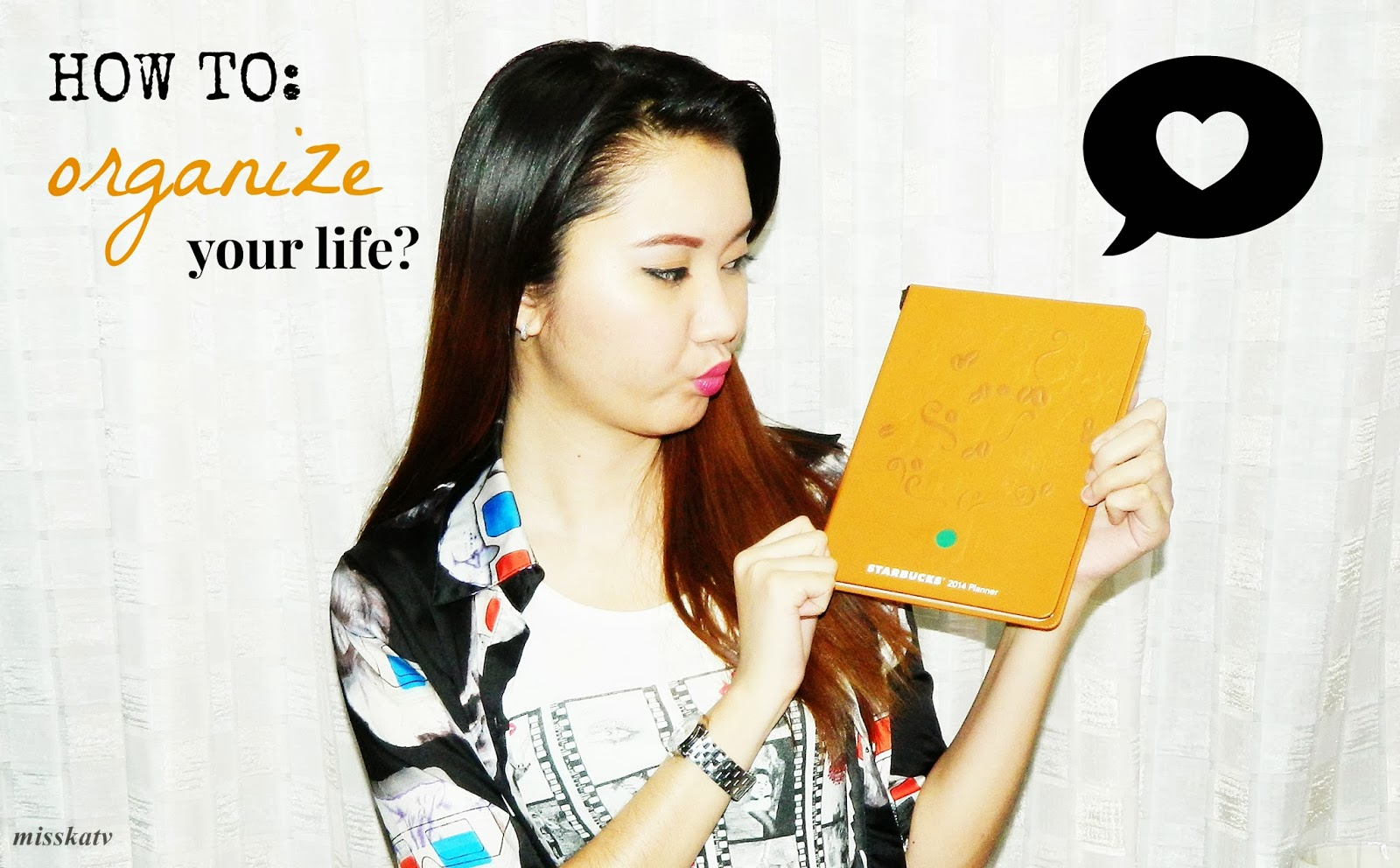 starbucks 2014 planner philippines how to organize your life blog post article viral tips