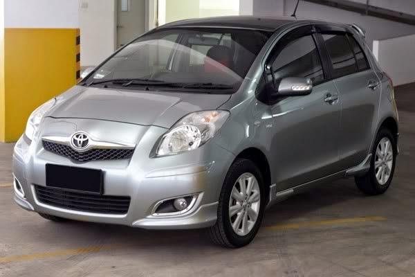 Perbedaan antara Toyota Yaris NCP91 Tipe J,E, dan S