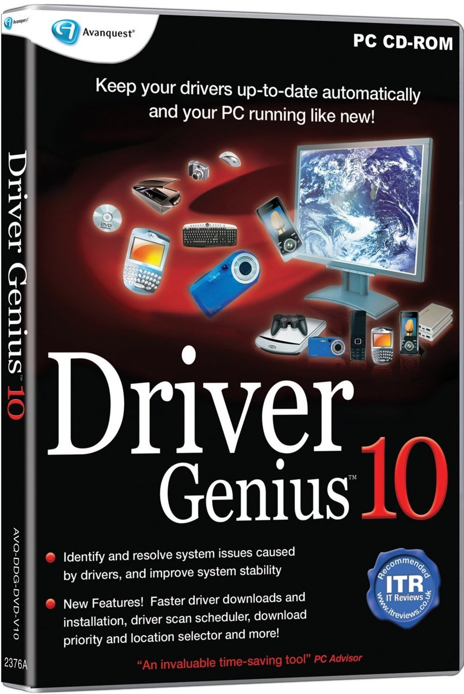 Driver Genius - Backup restore and update all your drivers easily