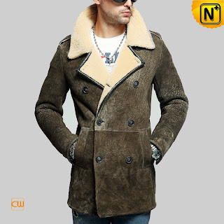 Men Sheepskin Coat