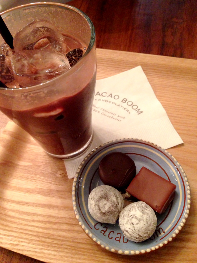 Samcheondong chocolate handmade truffles
