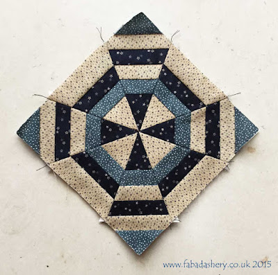 Miniature Block of the Month November 2015 - The Quilt Room