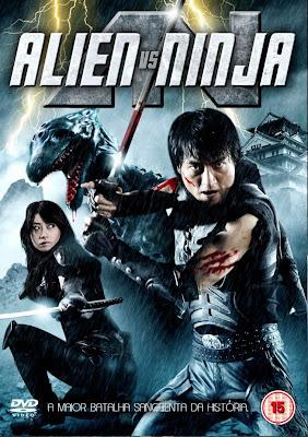 Alien vs Ninja - DVDRip Legendado (RMVB)