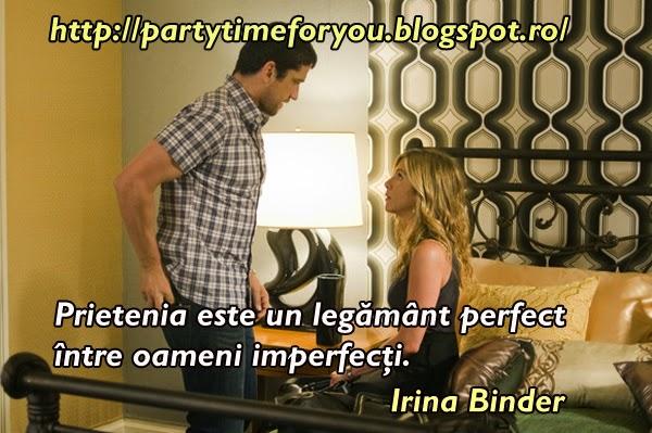 Prietenia este un legământ perfect între oameni imperfecţi.