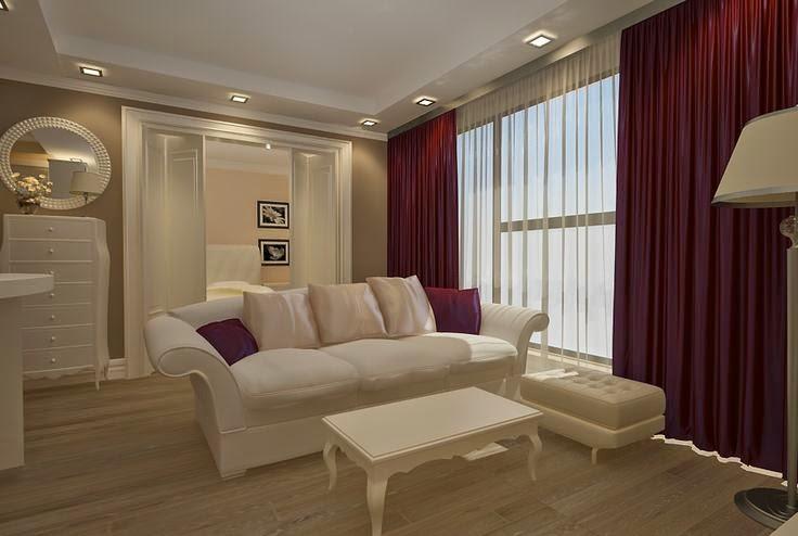 Design interior living apartament