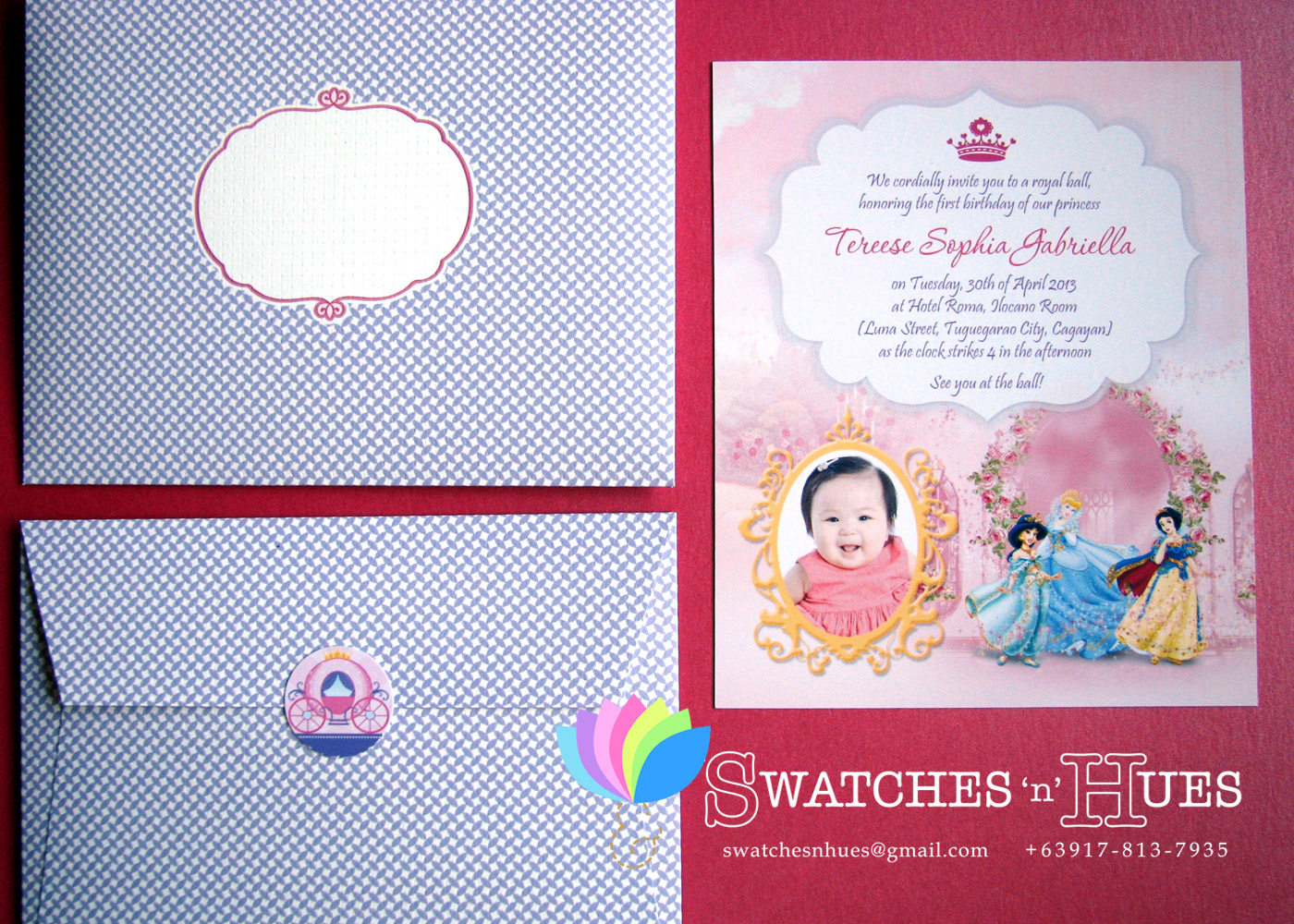 Swatches hues handmade with tlc may 2013 flat print invitations kristyandbryce Choice Image