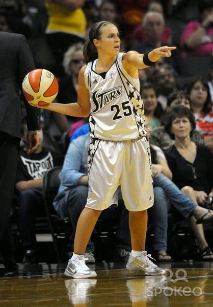 Becky Hammon - International Basketball All Star